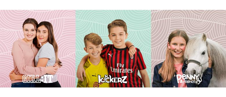 Girl:IT, Kickerz, Penny & Friends